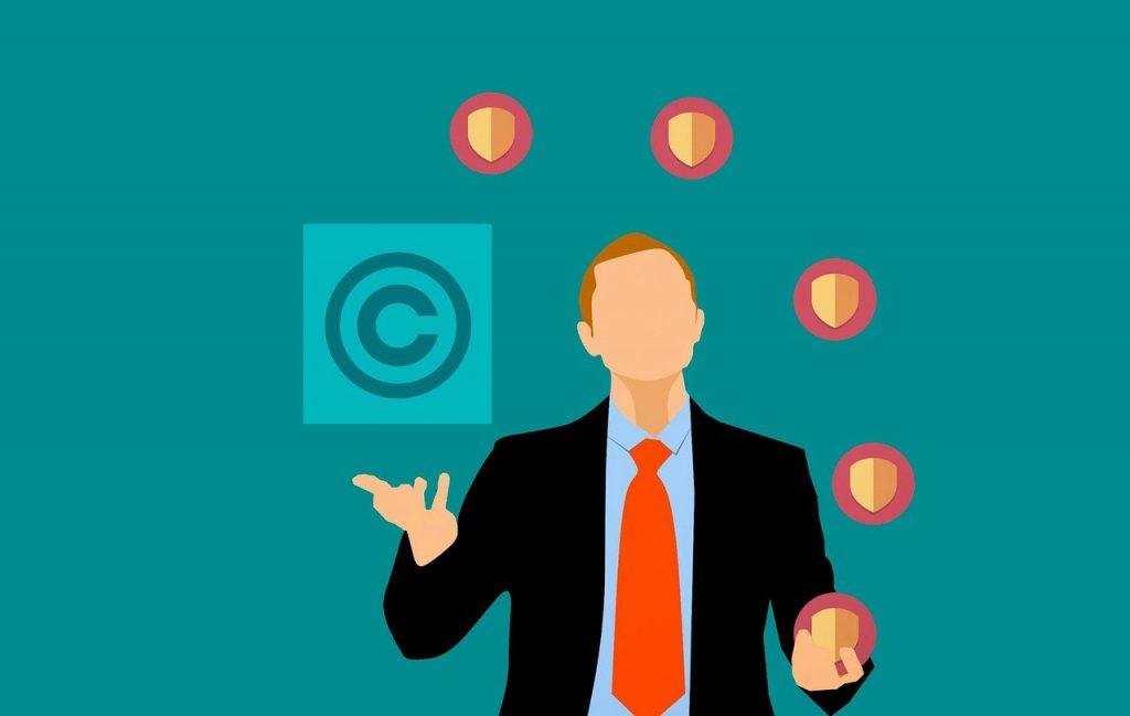 juggling copyrights